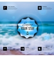 web and mobile interface template vector image