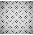 White Background with Perforated Pattern vector image vector image