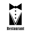 Restaurant badge or sign vector image