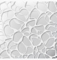 abstract gray water surface background vector image vector image