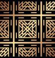 art deco pattern vector image vector image