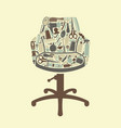 barbershop symbol vector image vector image