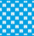 calendar april 1 pattern seamless blue vector image vector image