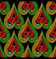 colorful ethnic style ornamental greek seamless vector image vector image