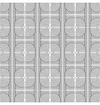 monochrome geometric graphic pattern vector image
