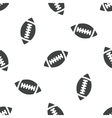 Rugby ball pattern vector image