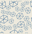 Seamless geometric pattern on the wallpaper