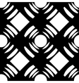 seamless pattern with squares and circles vector image