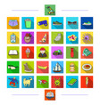 sports animals education and other web icon in vector image vector image