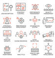 Strategy Management System icons - 2 vector image vector image
