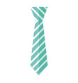tie accessory for men vector image