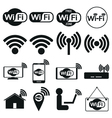 wi fi vector image