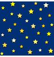 yellow stars vector image vector image