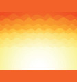 abstract yellow sky background vector image vector image