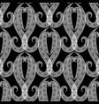 arabesque style ornamental greek seamless vector image vector image