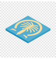 artificial islands in dubai isometric icon vector image vector image