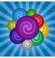 Colorful set circle paint vector image vector image