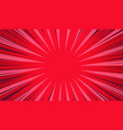 comic book page explosive red background vector image vector image