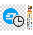 dash credit counter icon with bonus vector image vector image