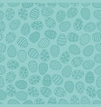 easter seamless background with eggs gift card vector image vector image