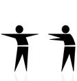 trashmen greeting vector image vector image