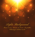 Abstract festive background with bokeh defocused vector image vector image