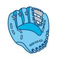 baseball leather glove