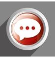 Chat icon symbol design vector image vector image