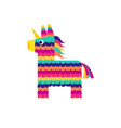 Pinata horse cute unicorn viva mexico