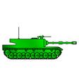 Tank2 vector image