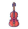 violine icon cartoon style vector image vector image