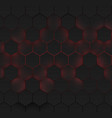 abstract hexagonal background futuristic