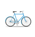 city old bike isolated on white background vector image