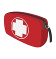 First aid kit cartoon icon vector image