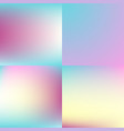 sweet color blurred background set pastel color vector image vector image