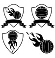 Water polo vector image vector image