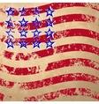 Grunge striped flag vector image