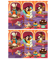Bakery Differences vector image