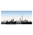 berlin cityscape with landmarks city urban vector image vector image