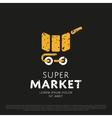 Market logo vector image vector image