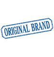 original brand square blue grunge vintage isolated vector image vector image