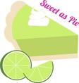 Sweet As Pie vector image vector image