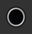 button black vector image