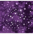 Abstract stars background vector image vector image