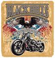 blackhills rider vector image vector image