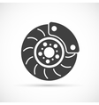 Brake Disc icon vector image vector image