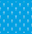 global travel concept pattern seamless blue vector image