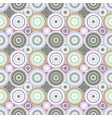 repeating concentric circle pattern - background vector image vector image