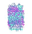 Backgraund Graffiti Tag vector image