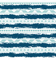blue and white tribal seamless pattern vector image